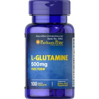 L-Glutamina 500 mg / 100 tab Puritans Pride