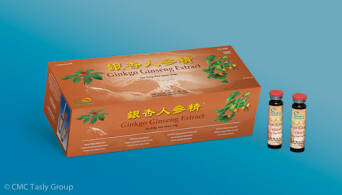 Ginko Ginseng Extract 30x10ml