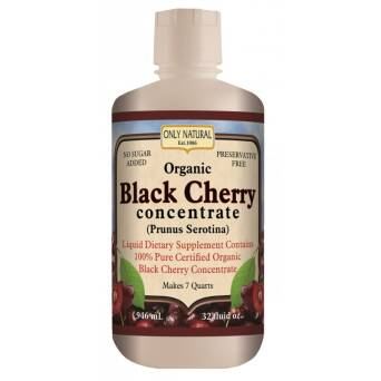 Black Cherry-Koncentrat soku-Czeremcha amerykańska 946ml- Only Natural