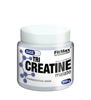 Obniżka! BASE Tri Creatine malate 250g FitMax® BASE Tri Creatine malate – 250G