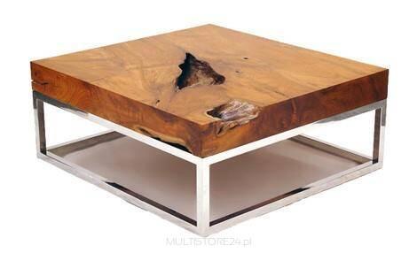Stolik Kawowy Drewniany AVANGARDA 70x70x40