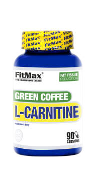FitMax® GREEN COFFEE L-Carnitine – 90 Kaps
