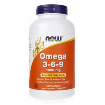 Now Foods Omega 3-6-9 1000 mg - 250 kaps