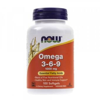Now Foods Omega 3-6-9 100 mg - 100 kaps