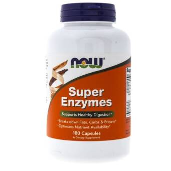 Now Foods Super Enzymes - 180 kaps