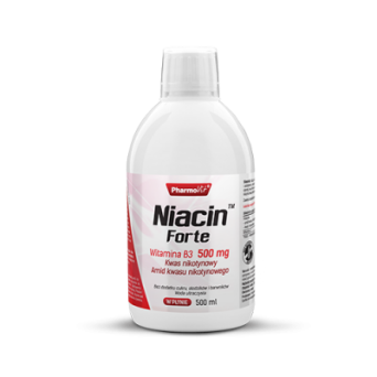 Niacin™ Forte Witamina B3 500 mg 500 ml Pharmovit