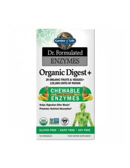 Enzymy trawienne Dr. Formulated Enzymes Organic Digest+ Garden of Life