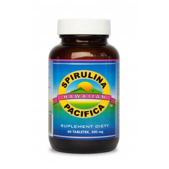 Spirulina Pacifica® hawajska 500 mg (60 tabletek)