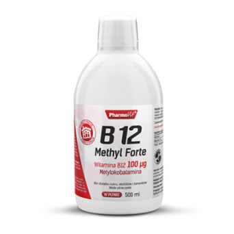 B12 Methyl Forte Witamina B12 100 µg 500 ml Pharmovit