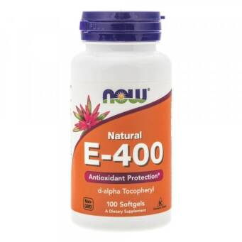 Now Foods Witamina E-400 - 100 kaps