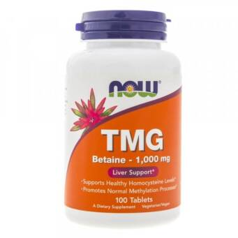 Now Foods TMG (Betaine) 1000 mg - 100 tabl