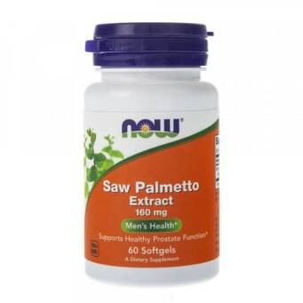 Now Foods Saw Palmetto Extract (Palma Sabałowa) 160 mg - 60 kaps