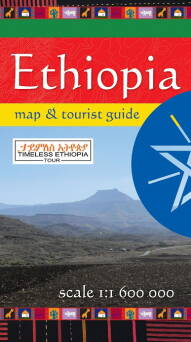 Mapa Ethiopia map & tourist guide