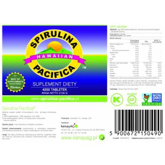 Spirulina Pacifica® hawajska 500 mg