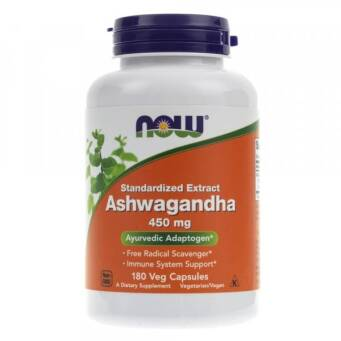 Now Foods Ashwagandha 450 mg - 180 kaps