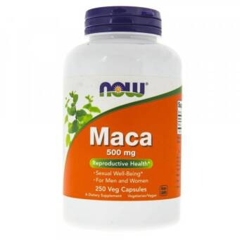 Now Foods Maca 500 mg - 250 kaps