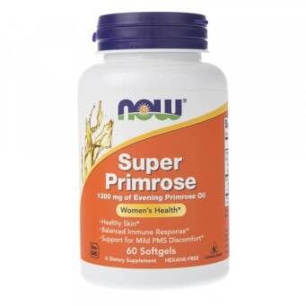 Now Foods Super Primrose 1300 mg - 60 kaps