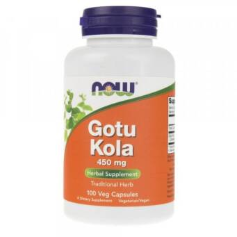Now Foods Gotu Kola 450 mg - 100 kaps