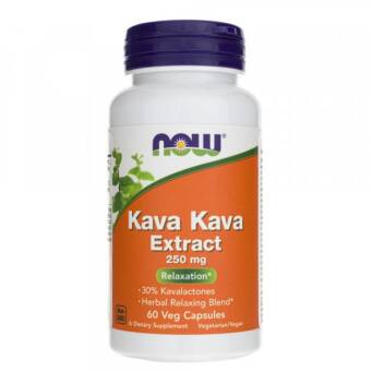 Now Foods Kava Kava 250 mg - 60 kaps