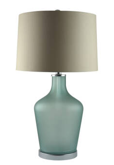 LAMPA STOŁOWA MULBERRY FROSTED 38X38X73CM